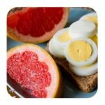 Диета на яйцах и грейпфрутах